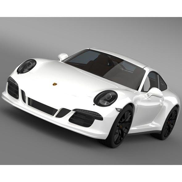 Porsche 911 Carrera 4 GTS Coupe 991 2015