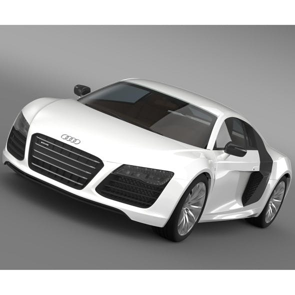 B&B Audi R8 V10 Plus 2013 - 3DOcean Item for Sale