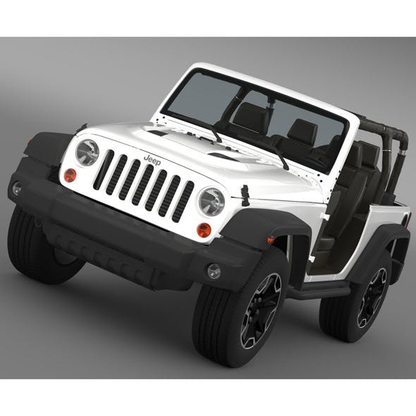 Jeep Wrangler Rubicon 10th Anniversary 2014 - 3DOcean Item for Sale