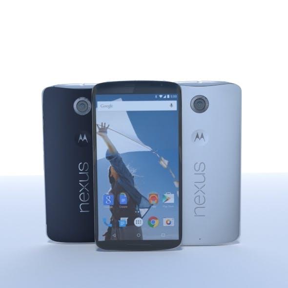 Nexus 6 - 3DOcean Item for Sale