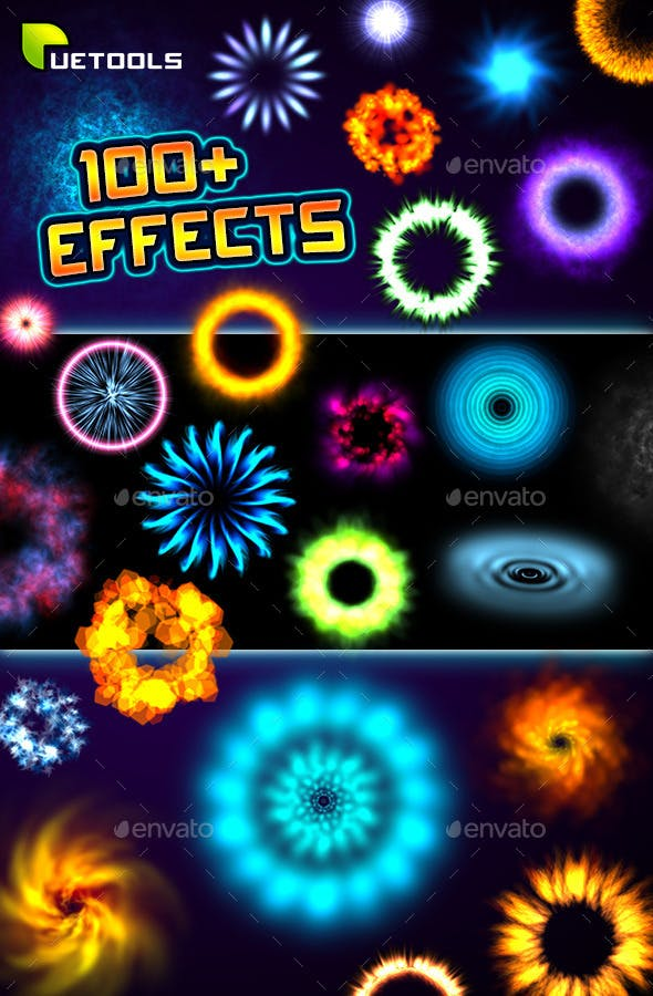 100+ Magic Particle Effects - 3DOcean Item for Sale
