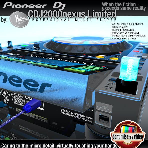 Realistic CD Player, Pioneer CDJ2000nexus limited