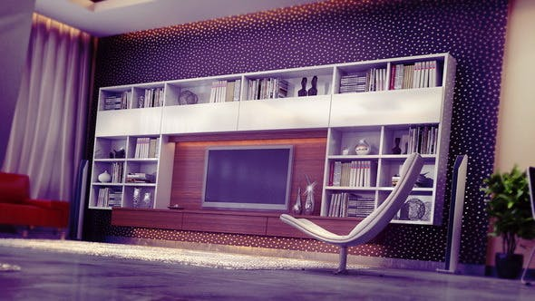 Wall-Unit - 3DOcean Item for Sale