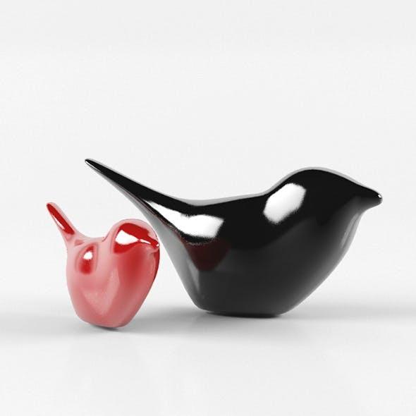 Decorative Birds - 3DOcean Item for Sale