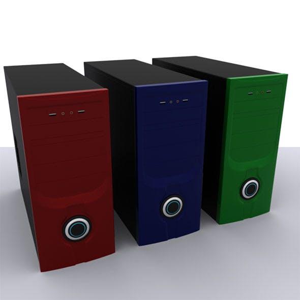 Computer Casing - 3DOcean Item for Sale