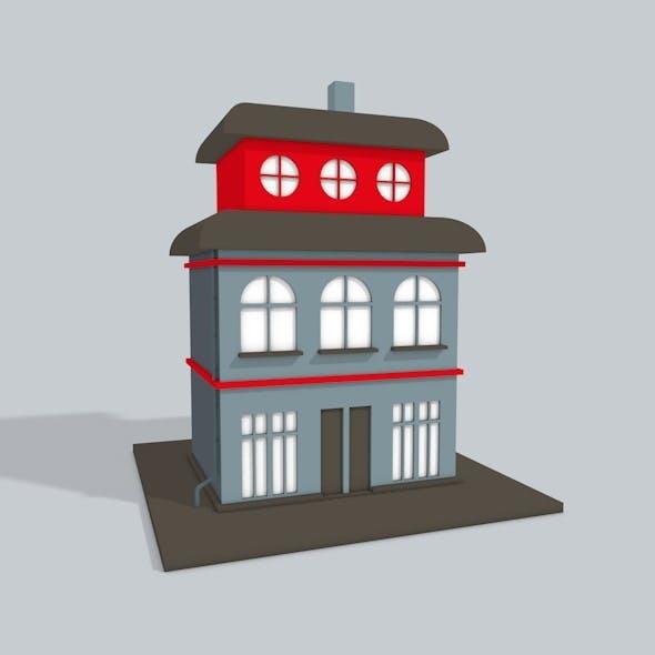 3D Building - 3DOcean Item for Sale