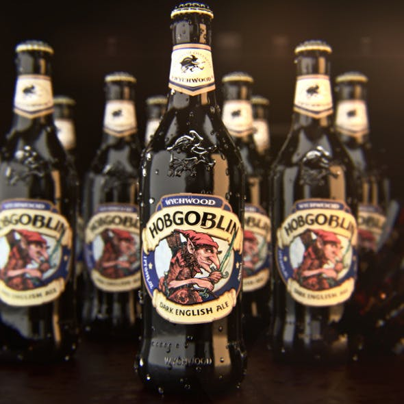 Hobgoblin Ale Bottle (Corona materials) - 3DOcean Item for Sale