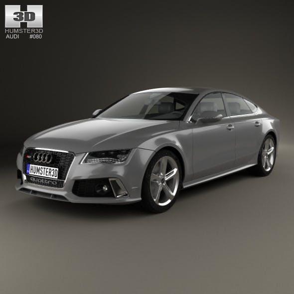 Audi RS7 (4G) sportback 2014 - 3DOcean Item for Sale