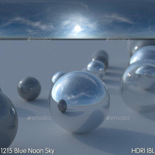 HDRI IBL 1215 Blue Noon Sky