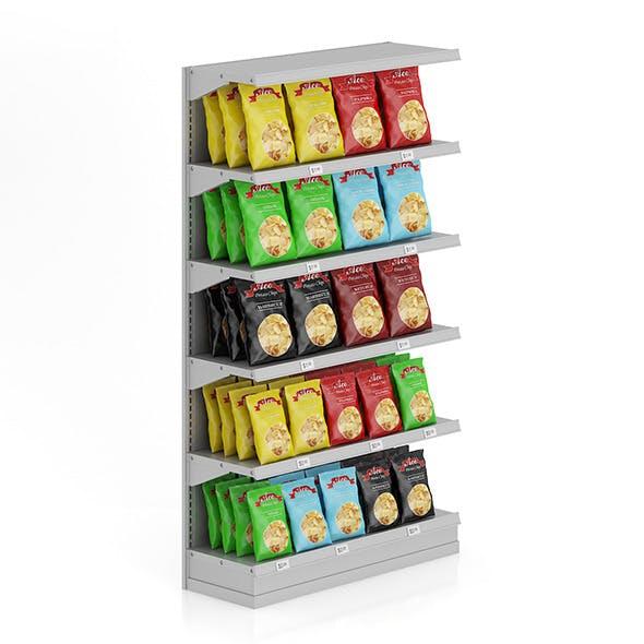 Market Shelf - Potato chips