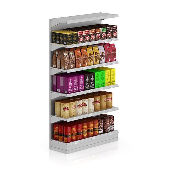 Market Shelf - Coffees - 3DOcean Item for Sale