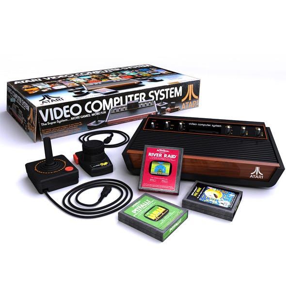 Atari 2600 Bundle Complete