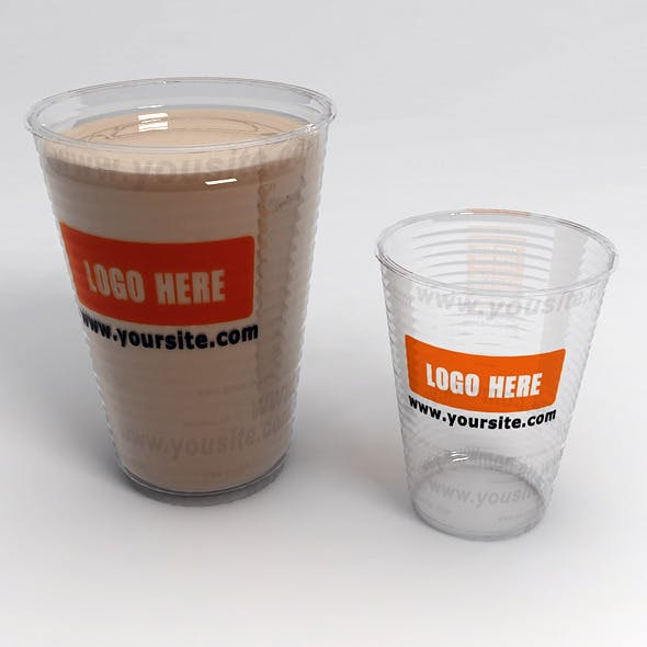 Plastic Cups with LOGO