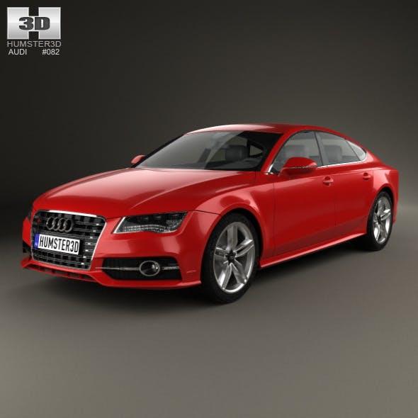 Audi S7 (4G) sportback 2012 - 3DOcean Item for Sale