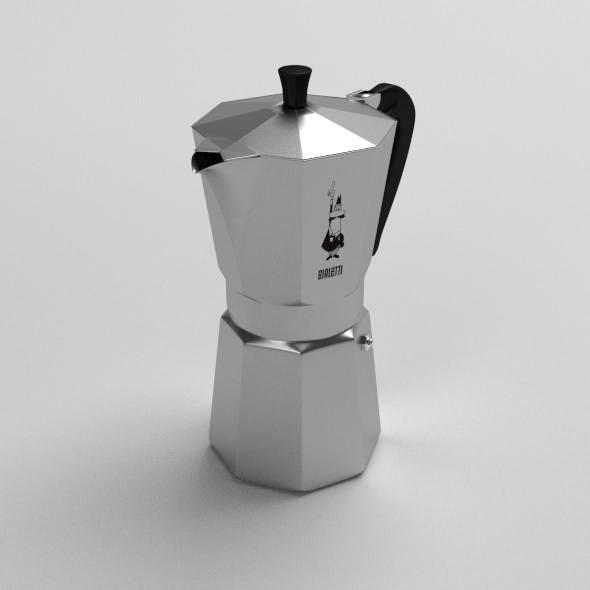 Bialetti Coffee Maker - 3DOcean Item for Sale