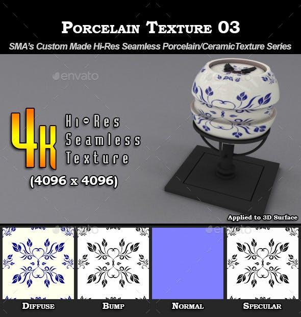 Hi-Res Porcelain Texture - 03 - 3DOcean Item for Sale