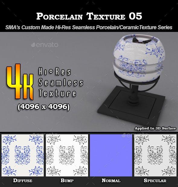 Hi-Res Porcelain Texture - 05 - 3DOcean Item for Sale