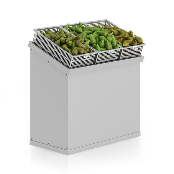 Market Shelf - Pears - 3DOcean Item for Sale