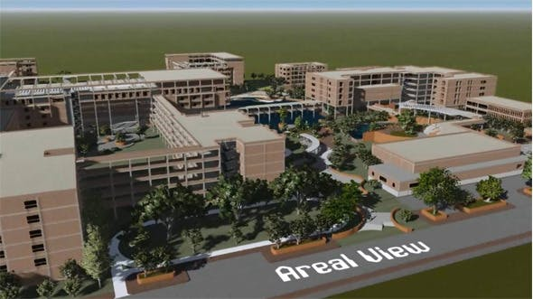 A medical college and hospital (500 bed) - 3DOcean Item for Sale