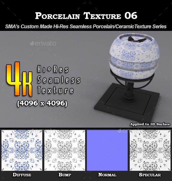 Hi-Res Porcelain Texture - 06 - 3DOcean Item for Sale