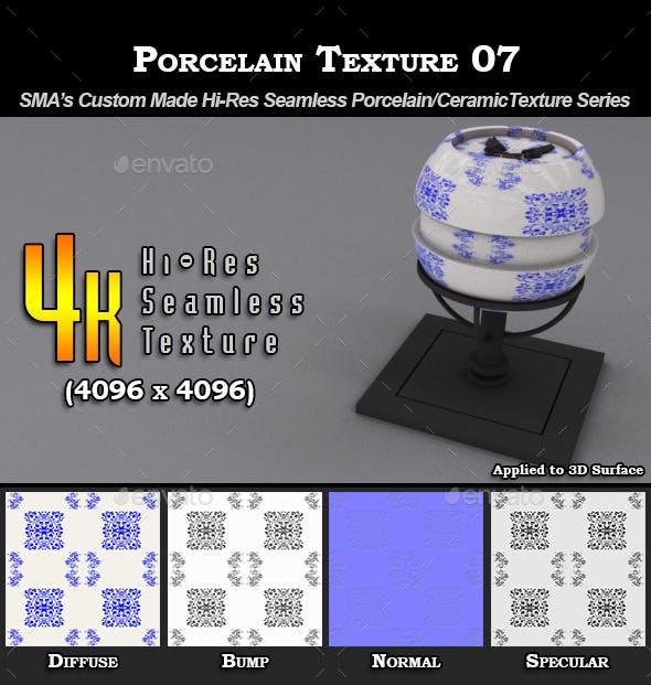 Hi-Res Porcelain Texture - 07 - 3DOcean Item for Sale