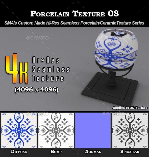Hi-Res Porcelain Texture - 08 - 3DOcean Item for Sale