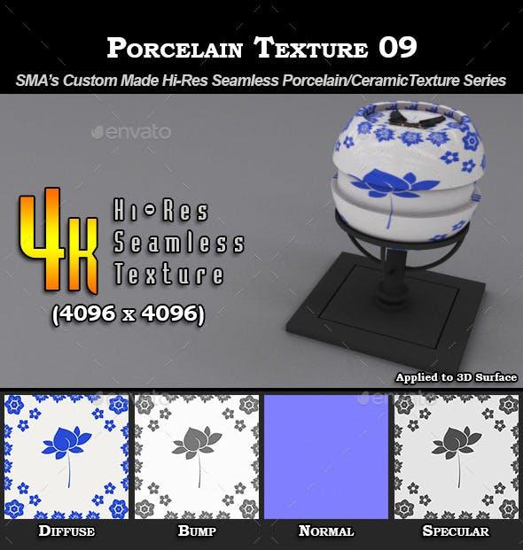 Hi-Res Porcelain Texture - 09 - 3DOcean Item for Sale