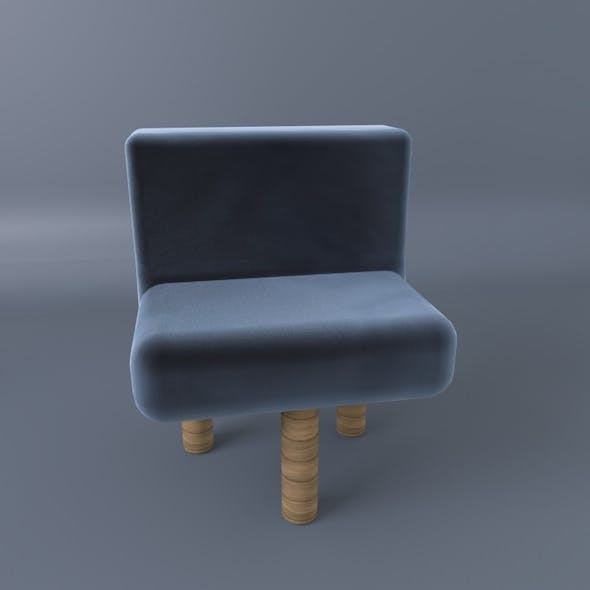 Three Legs Comfy Chair