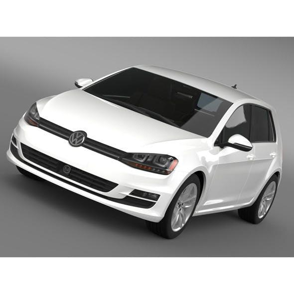 VW Golf TSI BlueMotion 5d Typ 5G 2012