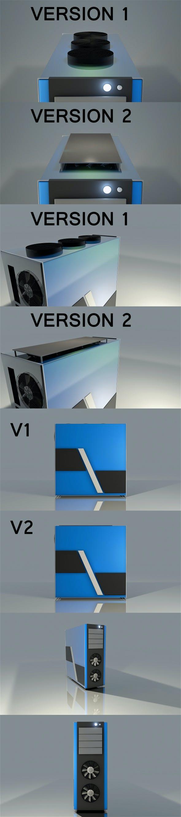 Computer Case - 3DOcean Item for Sale