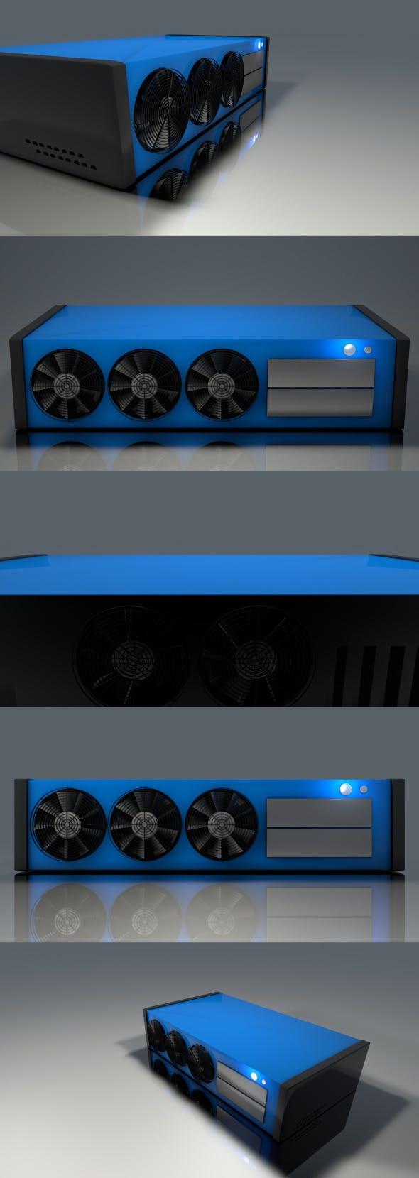 HTPC Computer Case - 3DOcean Item for Sale