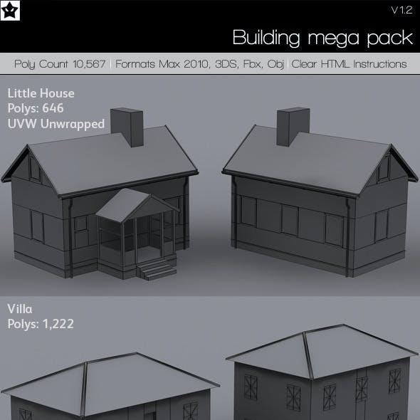 Building Mega pack