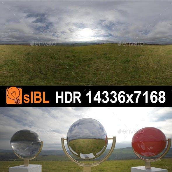 HDR 136 Cloud Sky Hill Top sIBL