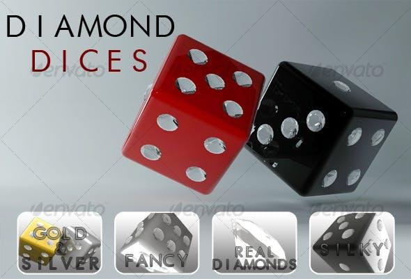 Diamond Dices - 3DOcean Item for Sale