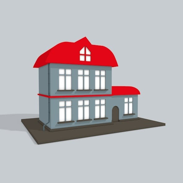 3D house - 3DOcean Item for Sale