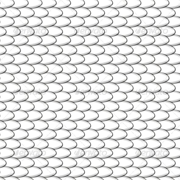 White Tiled Scales