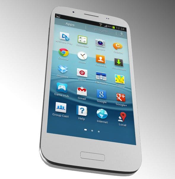 Samsung Mobile 3D model - 3DOcean Item for Sale