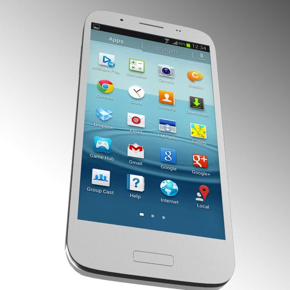 Samsung Mobile 3D model