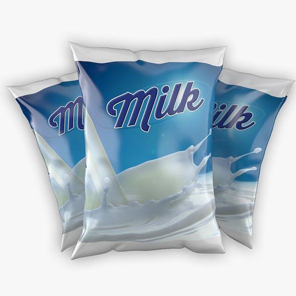 Sachet of Milk - 3DOcean Item for Sale