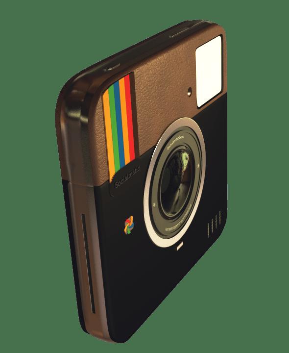 Polaroid Socialmatic Concept - 3DOcean Item for Sale