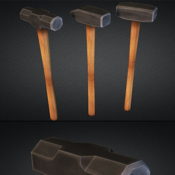Sledgehammers - Low Poly