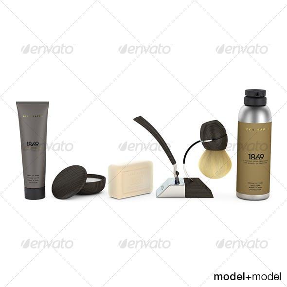 Acca Kappa shaving set - 3DOcean Item for Sale