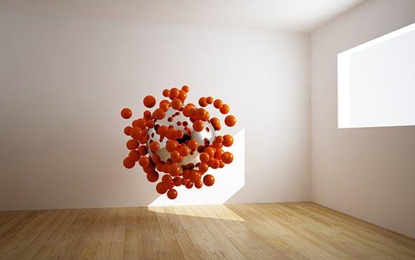 Room VRAY for C4D Scene + light - 3DOcean Item for Sale