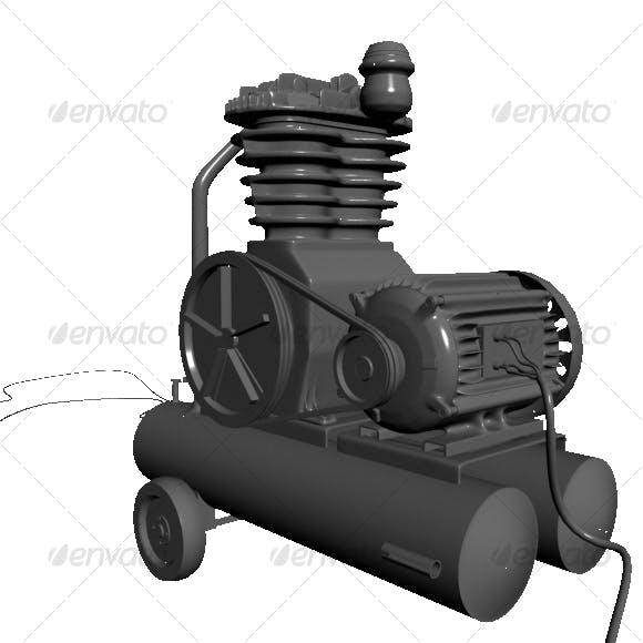 Compressor - 3DOcean Item for Sale