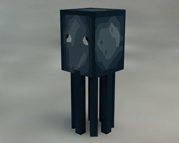 Squid Minecraft - 3DOcean Item for Sale