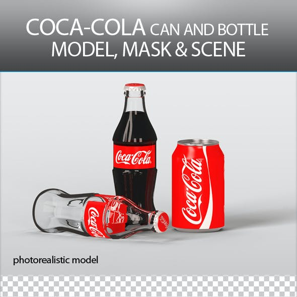 Coca Cola Can and Bottle