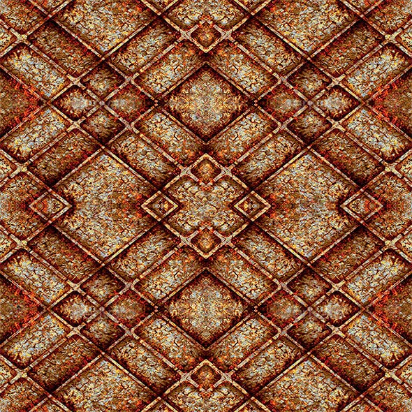 Geometric Grunge Seamless Texture