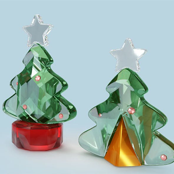 3d Crystal Christmas Tree