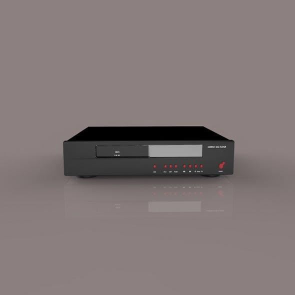 DVD Receiver - 3DOcean Item for Sale