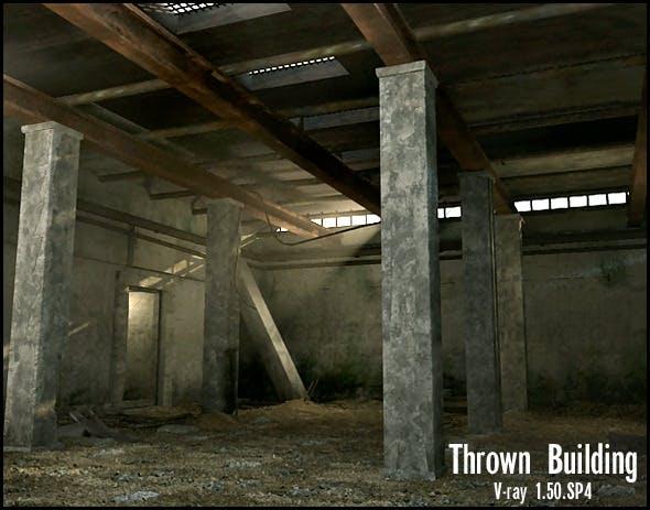 Thrown building - 3DOcean Item for Sale